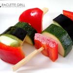 Fertig vorbereitet: Asia Gemüsespieße