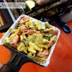 Fertiges Asia-Raclette Pfännchen