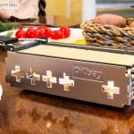 Käse im Candle Light Raclette