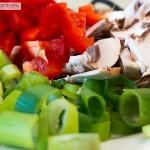 Frische Zutaten für das Raclette