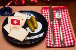 Schweizer Raclette Käse