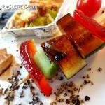 Der fertige Asia-Gemüsespieß vom Heißen Stein