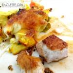 Asia-Raclette auf dem Teller