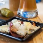 Bayerisches Raclette: Schinken und Weißwurst