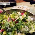 Cäsar Salat zum Raclette