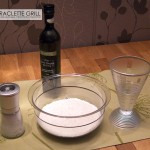 Zutaten für Flammkuchen-Teig