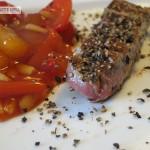 Rindfleisch vom Heißen Stein mit Asia-Soße