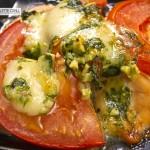 Fisch Raclette mit Mozzarella