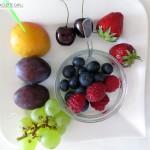 Fruchtiger Obst-Nachtisch zum Raclette