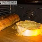 Fertig gebackener Ofenkäse