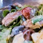 Frisch und lecker: Tomate, Champignons, Rucola