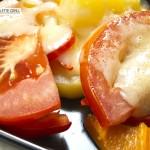 Detailansicht: Tomaten, Paprika und Kartoffel